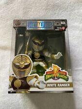 Mighty Morphin Power Rangers White Ranger DieCast MetalFigs M406  GameStop Excl