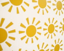 Sunshine Vinyl Wall Art Decals/Stickers - Various Colours & Sizes