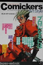 JAPAN Comickers Art Style 4 Yasuhiro Nightow Trigun Art book