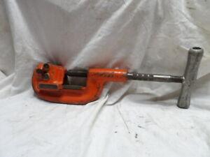 "Ridgid No. 202 Heavy Duty Wide Roll Pipe Cutter 1/8"" to 2"""