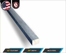 12 X 34 Steel Flat Bar Flat Metal Stock Mild Steel 24 Long 2 Ft