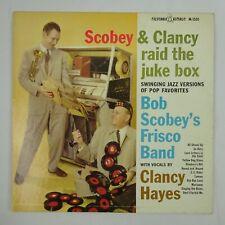 Bob Scobey Frisco Band feat Clancy Hayes LP Scobey & Clancy Raid the Juke Box