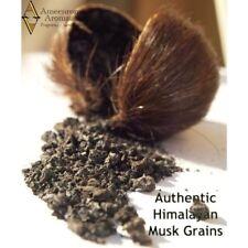 Pure 100% Authentic Himalayan Deer Musk Grains - Jinko POD Kasturi (1 gram)