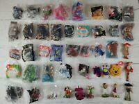 Brand New Sealed And Loose McDonald's Happy Meal Lot of 44 Toys Disney Barbie