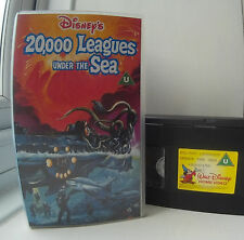 20,000 Leagues Under The Sea Disney VHS Video