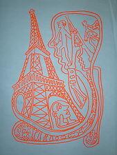 Yvon Taillandier sérigraphie signée Figuration libre art brut salon de mai