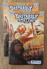 DASTARDLY and MUTTLEY #6 NM+ Cover B Bill Sienkiewicz Variant DC Comics UNREAD