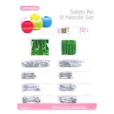 Safety Pin And Needle Set Assorted Needles & Pins Tape Measure Sewing Kits Dw