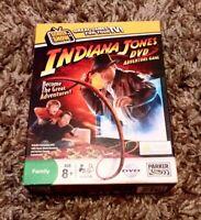 INDIANA JONES DVD ADVENTURE GAME INTERACTIVE DVD GAME COMPLETE NICE CONDITION