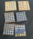 1940s ACRO Hold Tite NUMBERING Tacks WINDOW Markers Qty. 127