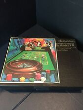2408) Vintage 1950's Roulette Wheel Game by Pleasantime with instructions