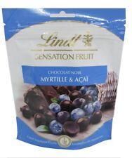 französische Lindt dunkle Schokolade Sensationfruit, Heidelbeere & Acai, 150g