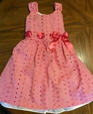 Bonnie Jean Pink BEAUTIFUL Easter Spring Dress Size 8
