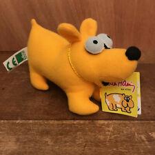 Petite peluche jaune chien/dog de Keith Haring - Vilac - Article devenu rare