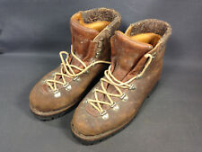 Old Pair of Ski Boots or Hiking Vibram Collection Deco Cottage