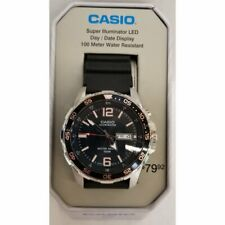NIB Casio NEW DIVER 100M SUPER ILLUMINATOR MTD1079-1AVTN MSRP $80 BRAND NEW TIN