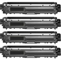 4Pk TN221BK Black Toner Cartridge for Brother MFC-9130CW MFC-9330CDW MFC-9340CDW