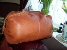 Spanish Hippie's leather small travel bag