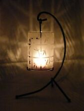 PartyLite Bamboo Lantern Candle Holder ~RETIRED~ Excellent Pre-Owned Condition