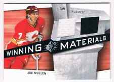 2008-09 SPX WINNING MATERIALS JOE MULLEN DUAL JERSEYS 2 COLORS CALGARY FLAMES
