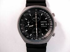 VINTAGE CROTON PVD MILITARY CHRONOGRAPH WATCH Porsche Design, Automatic w Date