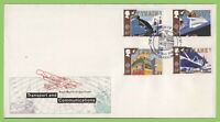 G.B. 1988 CEPT Transport set on Royal Mail First Day Cover, Glasgow