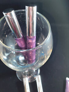 purple Flavored Grape Gloss... All Natural Oils And Clear Shimmer