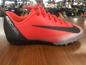 Nike AJ3100-600 Indoor Soccer Cleats  VaporX 12 Turf 5.5 Youth FREE SHIPPING!!!