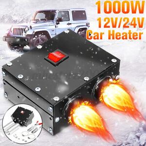 12V 24V Mini 1000W Car Vehicle Heater Hot Warm Fast Heating Windscreen