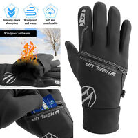 Pocket Winter Warm Gloves Windproof Waterproof Touch Screen Men Women Ski Snow