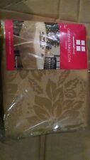 """NEW NIP Christmas Essential Home oblong gold Damask Tablecloth 60""""X120"""""""