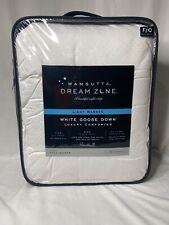 Wamsutta Dream Zone Light Warmth White Goose Down FULL/QUEEN Comforter  $285