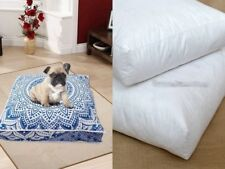 Indian Mandala Cotton Floor Pillow Cover Square Pet Dog Bed With Insert Cushion