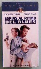 k turner ESPIAS AL RITMO DEL BLUES  VHS VIDEOTAPE NEW subtitulada al espanol