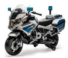 Rosso Motors Kids Police Ride-on Motorcycle Bike Car 12V w/ engine sound, music