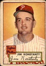 Jim Konstanty 1952 Topps #108 Phillies Poor 61128