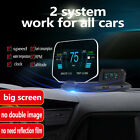 Newest C1 OBDII 2 GPS Dual Mode Auto Car HUD Head Up Display For all Cars