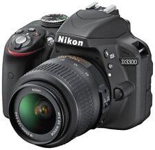 Black Digital SLR Cameras