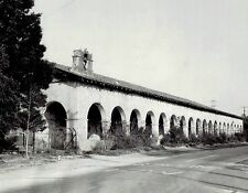 1929 Vintage Photo restoration at Mission San Fernando Rey de Espana California