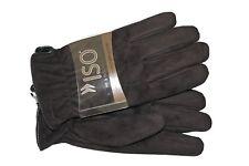 ISOTONER Men's Brushed Microfiber Gloves Size L