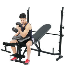 Black Strength Weight Bench Press with Butterfly and Preacher Curl - Home Gym A