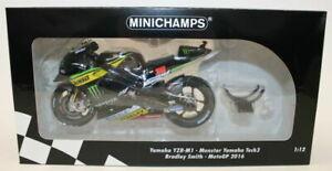 Minichamps 1/12 122 163038 Yamaha YZR-M1 Monster Tech3 Bradley Smith MotoGP 2016