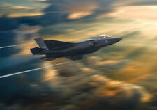 More details for raf f-35 lightning motion capture canvas prints various sizes free delivery