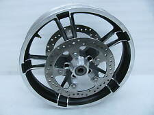 "New Take-off Harley Davidson Enforcer Front Wheel 19"" x 3.5"" & Rotors Touring"