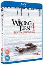 Wrong Turn 4 - Bloody Beginnings Blu-ray UK BLURAY