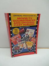 Movie TV Soundtracks And Original Cast Recordings Official Guide Book Broadway