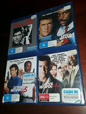 *New & Sealed* Lethal Weapon 1-2-3-4 on Blu Ray! Starring Mel Gibson Region B AU