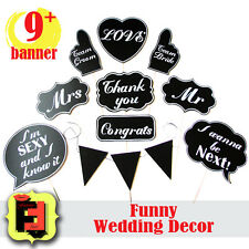 Large Photobooth Props Wedding Signs Chalkboard Photo Booth Speech Bubbles