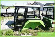 Universalkabine Traktorkabine RAL6017 Kabinen Cab Schlepperkabine