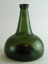 An Authentic Dutch Antique Glass Onion Bottle - circa 1700